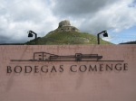 Entrance to Bodegas Comenge.