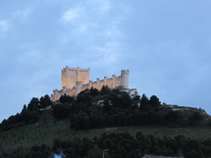 Long and narrow, Peñafiel Castle is suitably known as The Ark.