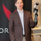 Greg Lambrecht Displaying Coravin 1000
